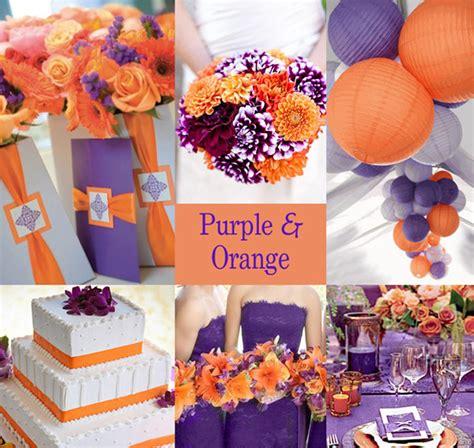 20 orange and purple wedding ideas everafterguide