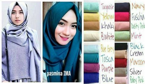 Jilbab Instant Isaura Two Tone Jersey Instan jilbab pashmina ima ima scarf