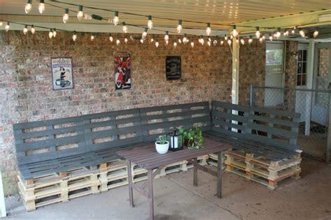 patio furniture from pallets muebles hechos con palets 100 ideas para el hogar