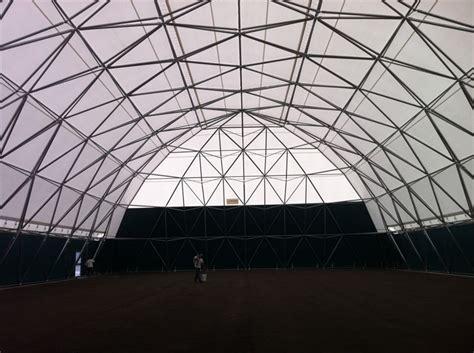 illuminazione co calcetto arcadia copertura in acciaio copertura geodetica in