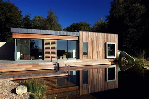 forest house design tranquil forest house with a sustainable modern design in the uk