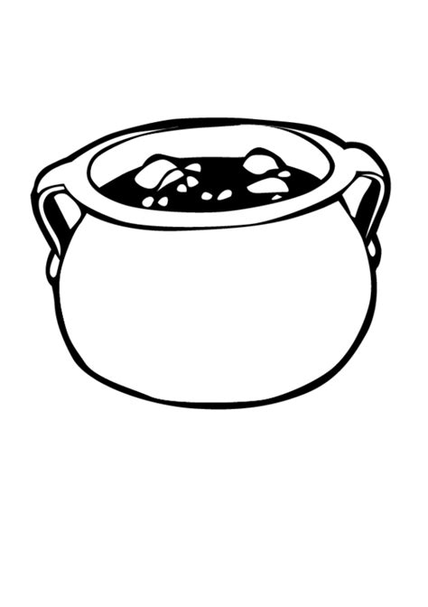 coloring earthen pots gallery for gt pot coloring page