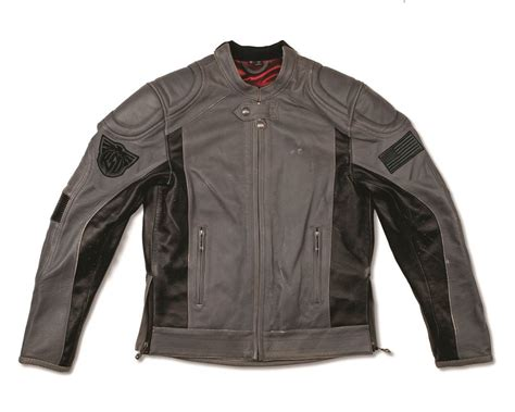Rsd Grey motorcycle jacket roland sands mission black