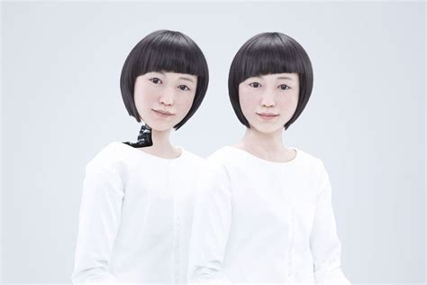 human android human or machine the incredibly like android robots from japan