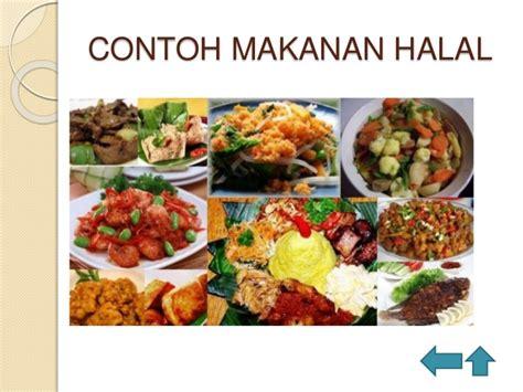 contoh hewan yang halal contoh makanan yang halal images