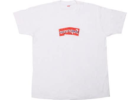 T Shirt Supreme Logo supreme comme des garcons shirt box logo white ss17