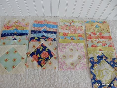 Scrappy Quilt Blocks by More Scrappy Quilt Blocks A Quilting A Quilt