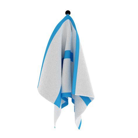 3d hanging towel model