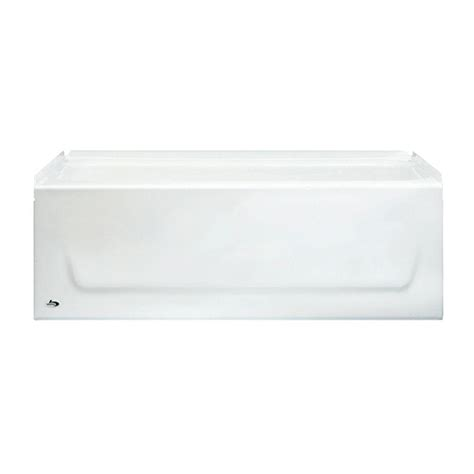 bootz bathtub bootz industries kona 54 in left drain rectangular alcove
