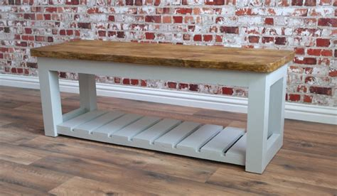 Reclaimed Dining Room Tables rustic hall bench shoe storage bench made from reclaimed
