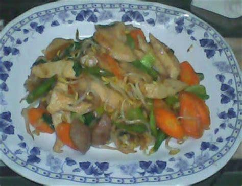 membuat capcay goreng seafood sederhana resep