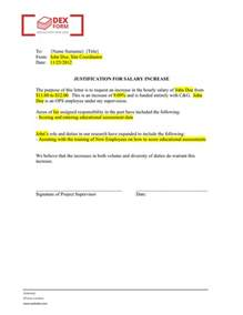 Justification Template by Justification Letter Template Justification Letters