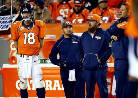 peyton manning bench press peyton manning benched for sunday s bronco s game against