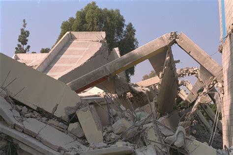 earthquake in california northridge ca earthquake damage