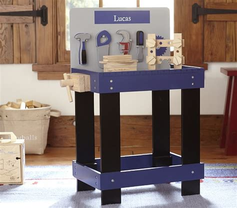 pottery barn tool bench workbench set pottery barn kids