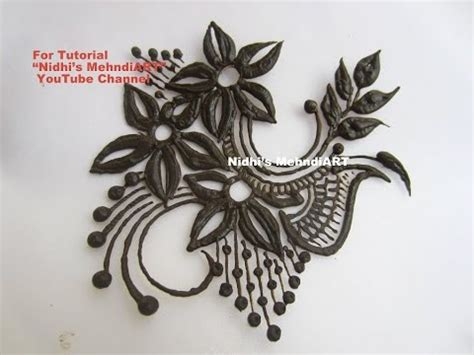 henna tattoo designs youtube beautiful flowery henna mehndi design patch