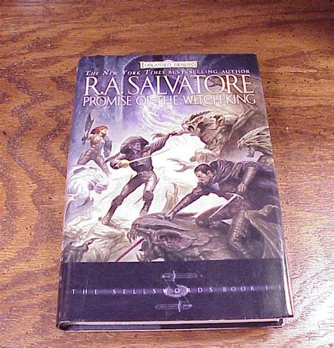 promise of the witch promise of the witch king book r a salvatore 1st signed fiction books