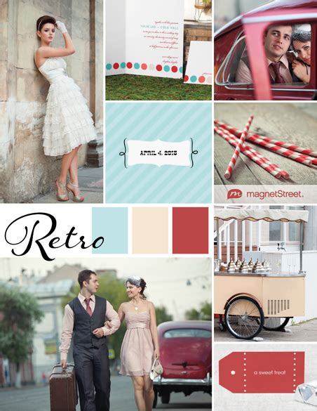 retro wedding inspiration retro wedding ideas