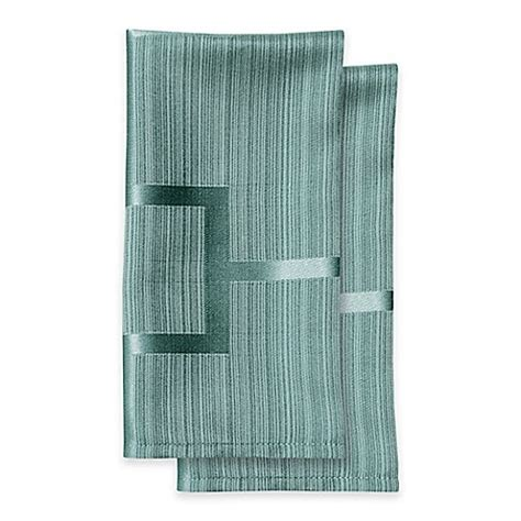 bed bath beyond tribeca buy origins tribeca microfiber napkins in turquoise set of 2 from bed bath beyond