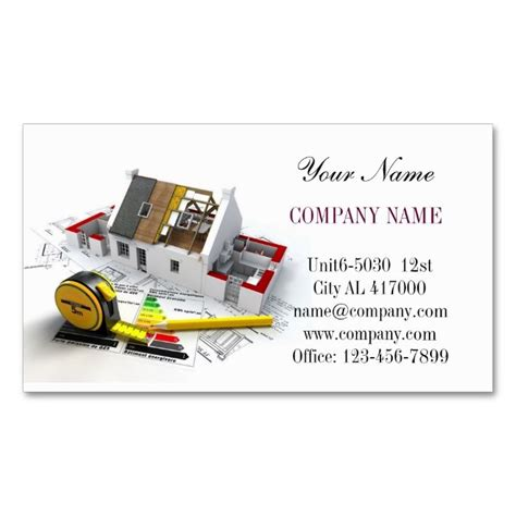 17 best images about construction business cards on