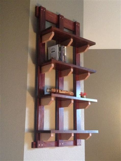 hanging bookshelf by erikf lumberjocks