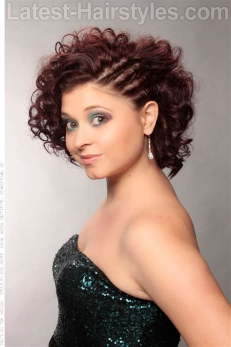 short on one side curly hairstyles a must have list curly hairstyles throughout winter