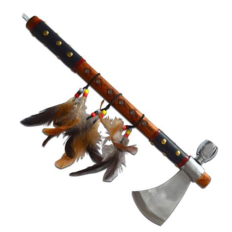native american peace pipe tomahawk swords