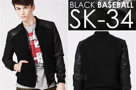Jaket Pria Jaket Kulit Korean Style Sk 102 jual jaket kulit model korea sk 34 jaket kaos crows
