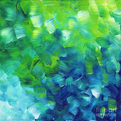 blue green paint blue green abstract paintings www imgkid com the image