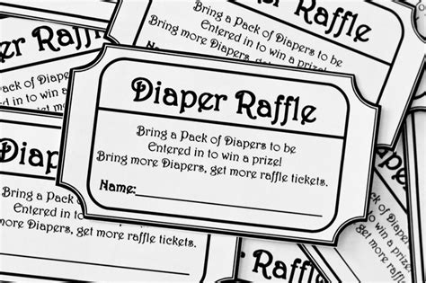 free printable baby shower raffle tickets template 8 best images of black and white zebra raffle