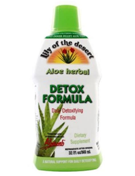Do Herbal Detox Drinks Work by Aloe Herbal Detox Formula Of The Desert