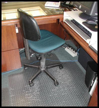 Corner Desk Chair Mat by Office Chair Mats