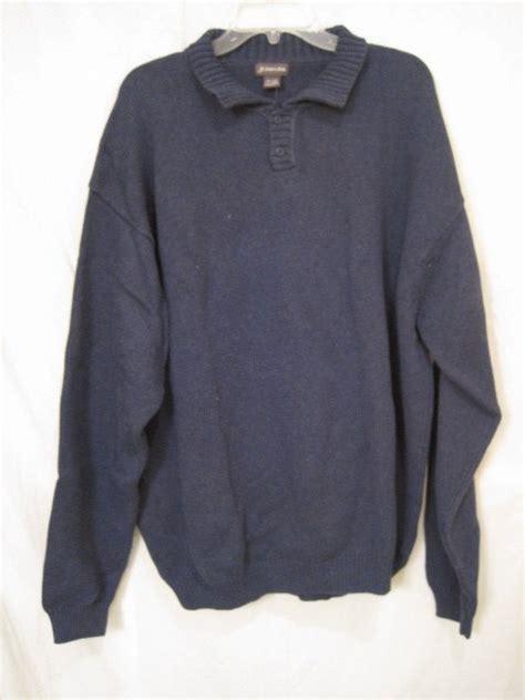 st johns bay pull sweater with collar 3xb 3x 3xl big
