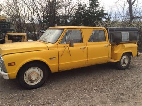 69 gmc truck for sale 69 gmc 3500 crewcab 4 door stepside barn find