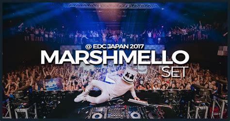 marshmello edc marshmello set edc japan 2017 dj leakz