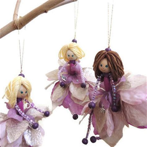 Handmade Fairies - best flower dolls products on wanelo