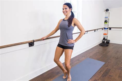 Fitness Barre Cranberry 1 by The 15 Minute Barre Workout For Stronger Sculpted Legs