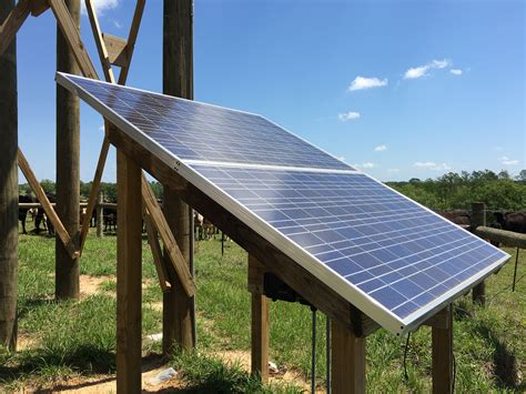 livestock well solar panel cost using solar energy to water for livestock panhandle