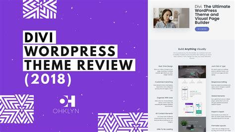 divi themes divi theme review 2018 comprehensive divi