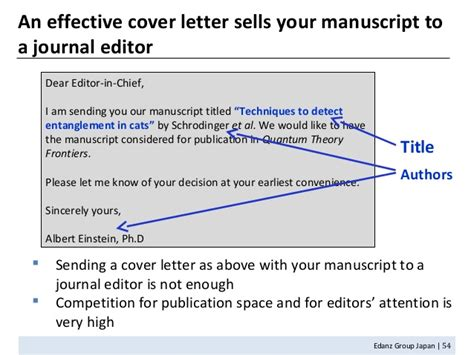 Cover Letter To Editor Scientific Journal Sle by Academic Writing Writing Translation Freelancers Guru
