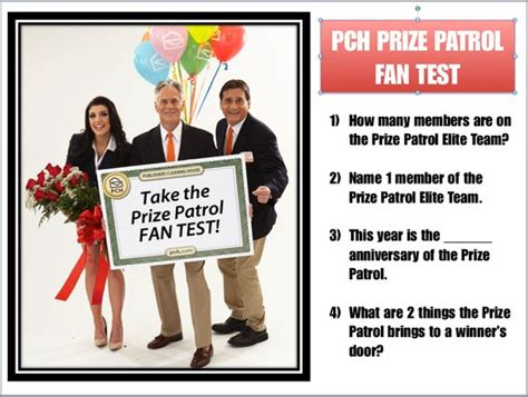 Pch Slots Prize Patrol - prize patrol fan test dare to dream pinterest fans blog and the o jays