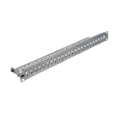 19 zoll gestell 3m patchpanel 19 zoll 1he 24 ports mit rj45