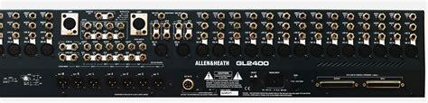 Mixer Allen Heath Gl2400 allen heath gl2400 16 4 buss 16 input live sound console