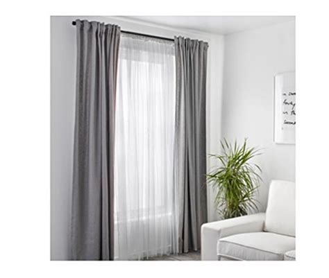 upgrade white curtains ikea mesh lace curtains 98 inch by 110 inch 2 pairs