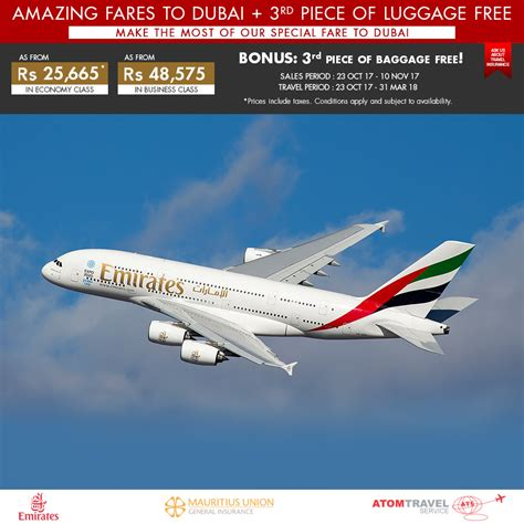 emirates promotion 2017 airline promotion archives atom travel