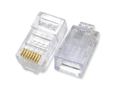 Murah Conector Rj 45 Konektor Rj 45 membuat sendiri kabel jaringan utp rj 45 kkpi