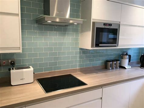 25 best ideas about kitchen wall tiles on pinterest lovely duck egg blue kitchen wall tiles gl kitchen design