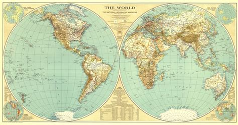 a quality world map installation national geographic world map 1935 maps