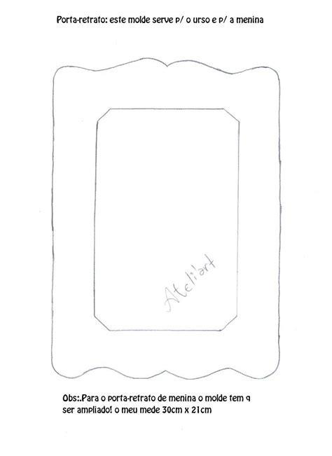 moldes d porta retrato echo d papel by artsil moldes gr 193 tis