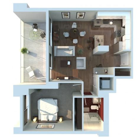 3d apartment floor plans plantas de kitnet 25 modelos e projetos gr 225 tis dicas